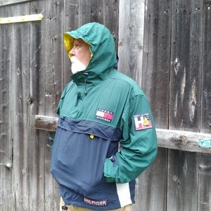 vintage packable hifiger sailing gear pullover